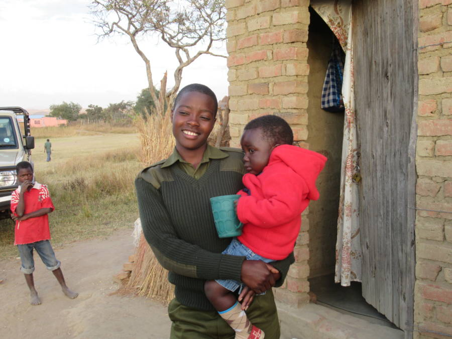 Akashinga Ranger And Son