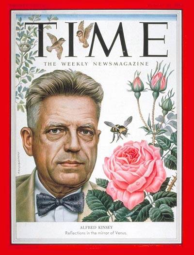 Alfred Kinsey Time Cover