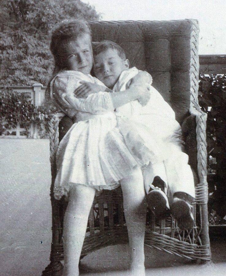 Anastasia Alexei Hugging
