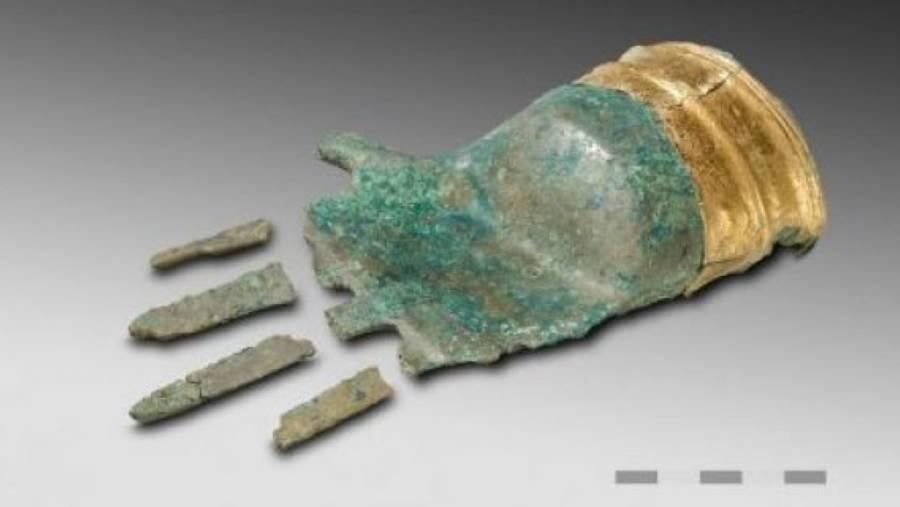 Bronze Age Metal Hand