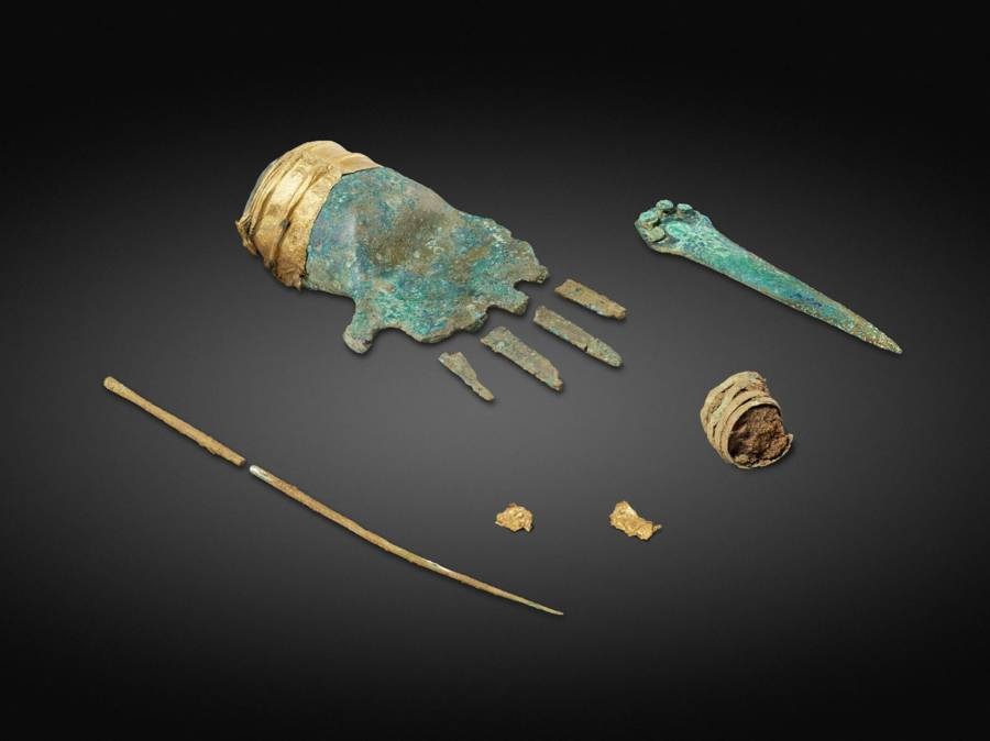 Bronze Age Hand From Switzerland