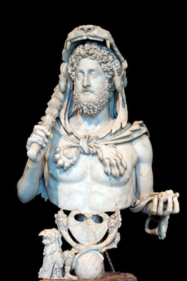 Bust Of Commodus Bust