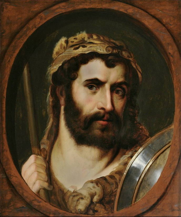 Commodus Painting