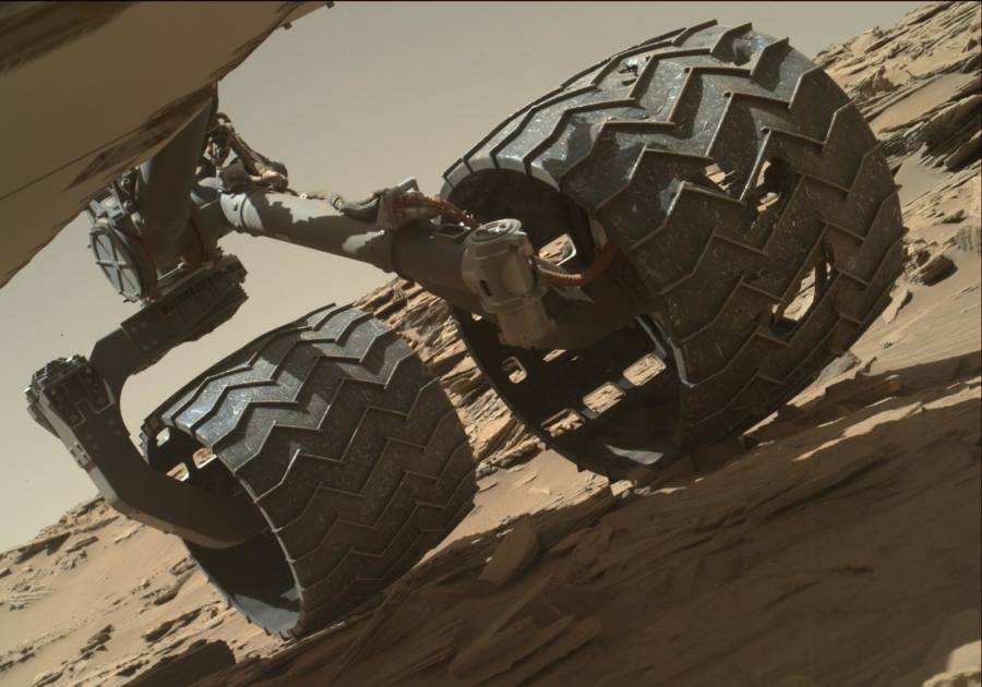 Curiosity Rover Wheel