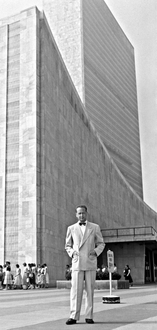 Dag Hammerskjold At The United Nations