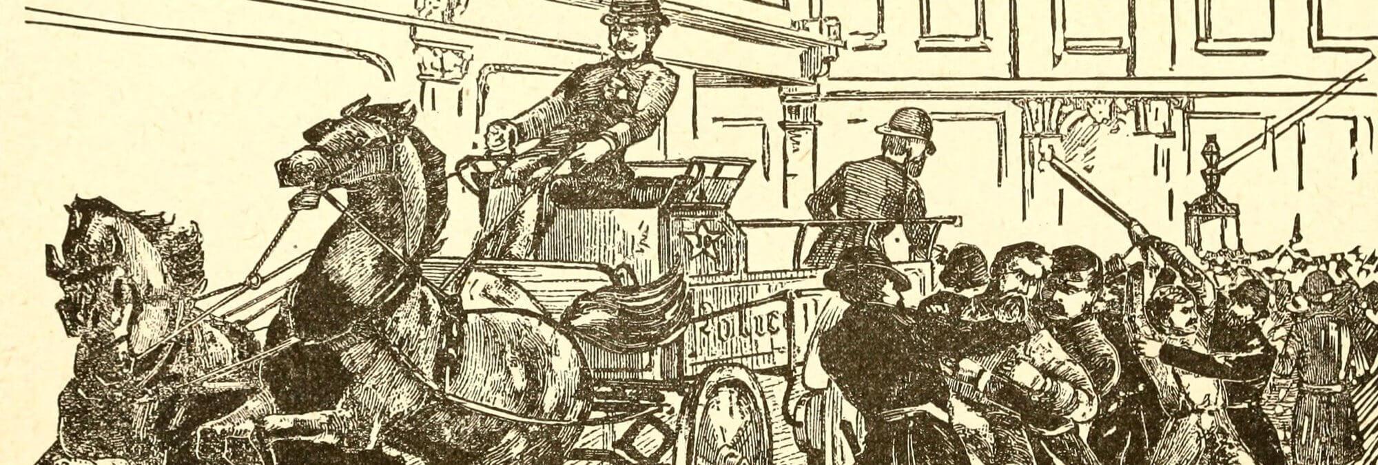 Haymarket Riot Illustration