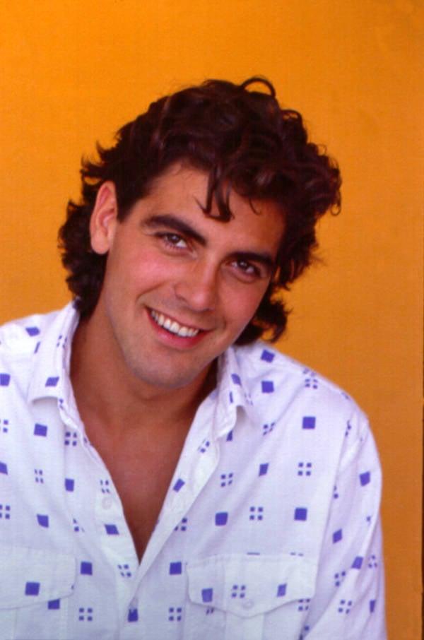 George Clooney Headshot