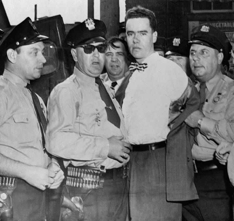 Howard Unruh Arrested