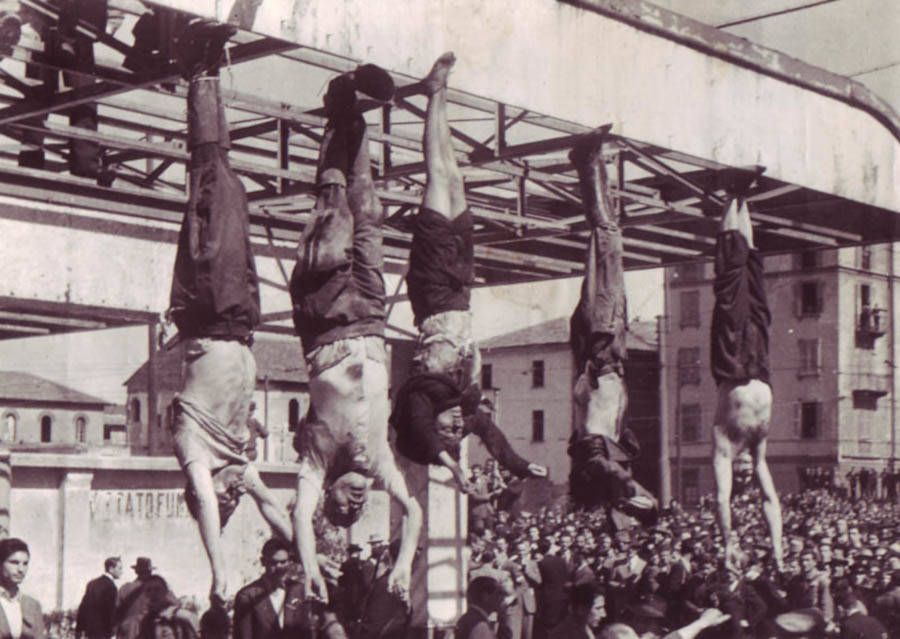 Mussolini Death Hanging
