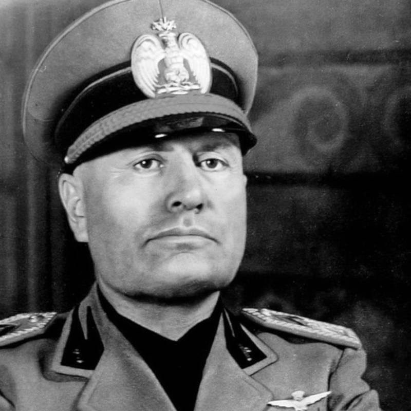 Benito Mussolini Portrait