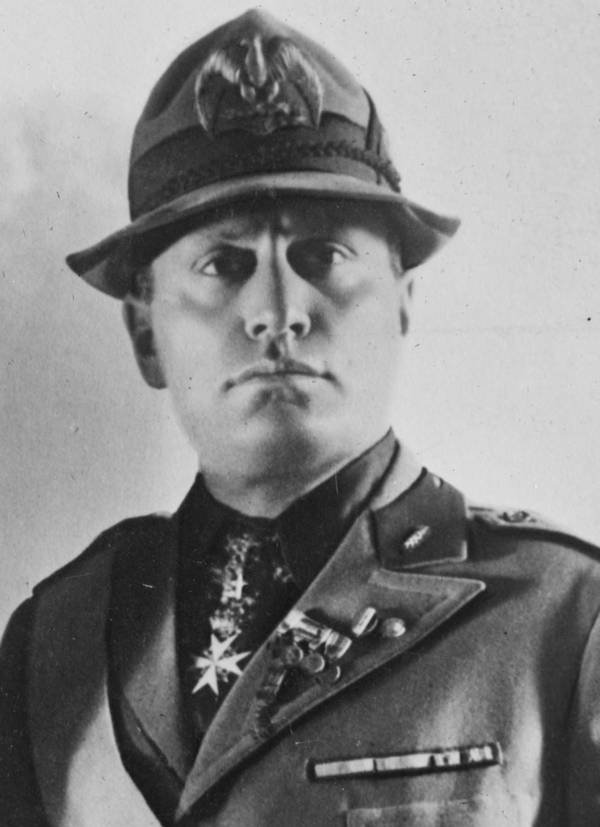 Mussolini As A Young Man