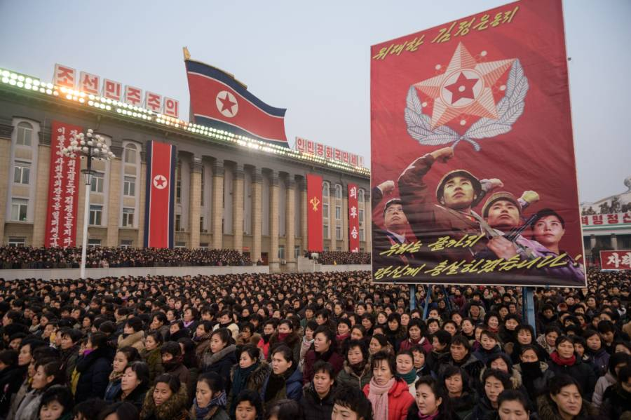 North Korea New Years Address