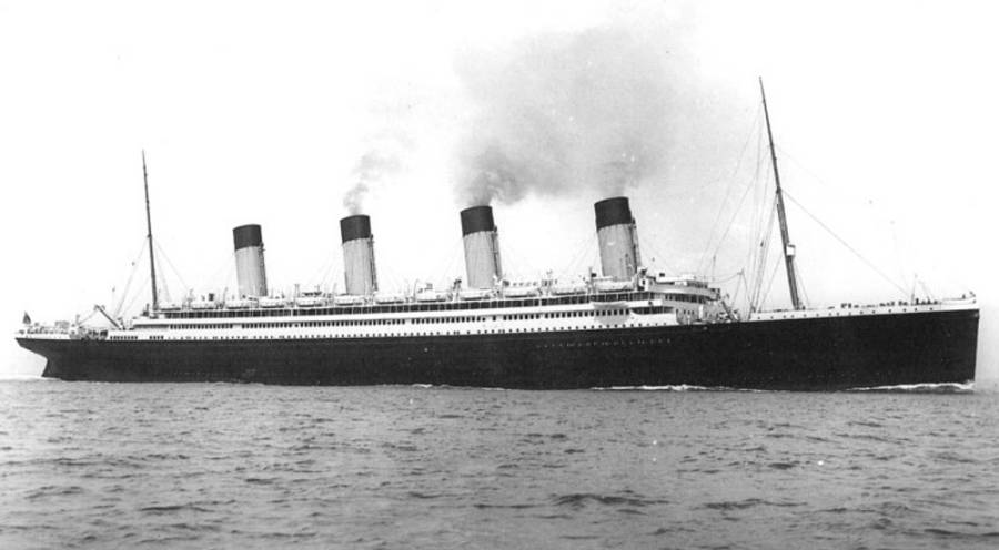 RMS Olympic 1922