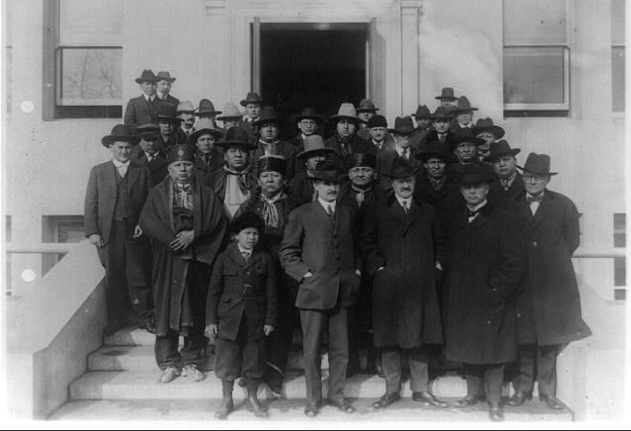 Osage Council In Washington D.C.