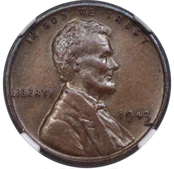 Front Of 1943 Penny