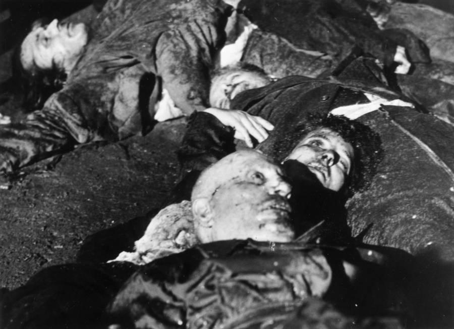 Mussolini Death Corpses