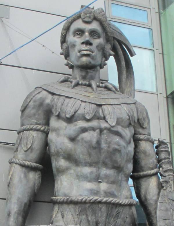 Shaka Statue London