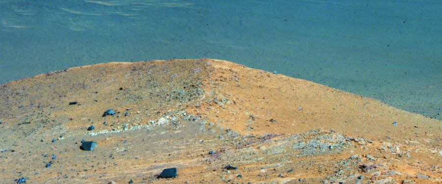 Spirit Mound Endeavor Crater
