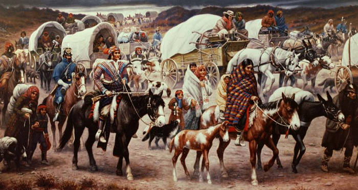 The Trail Of Tears: Government-Approved Ethnic Cleansing That Killed Over 15,000 Native Americans