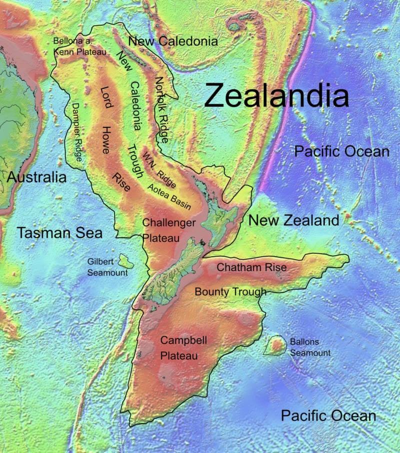 Lost Continent Of Zealandia