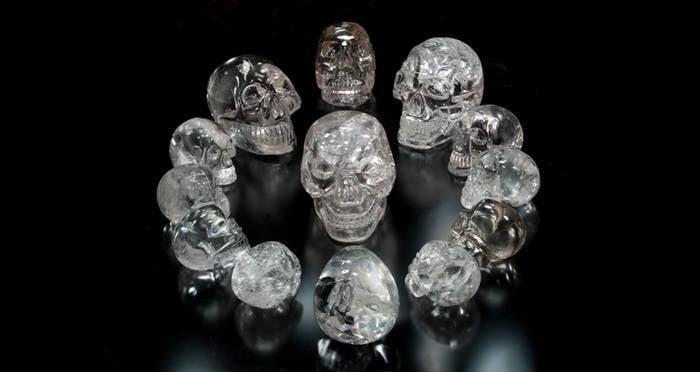 Found new crystal skull Crystal Skull