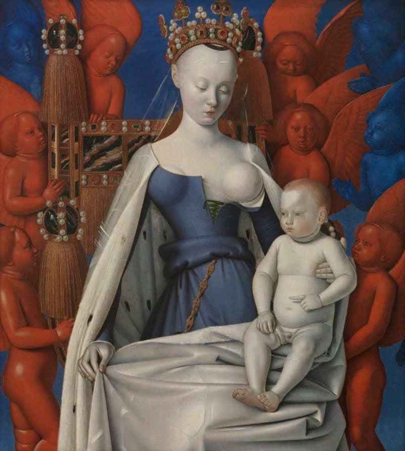 Fouquet Madonna Sorel