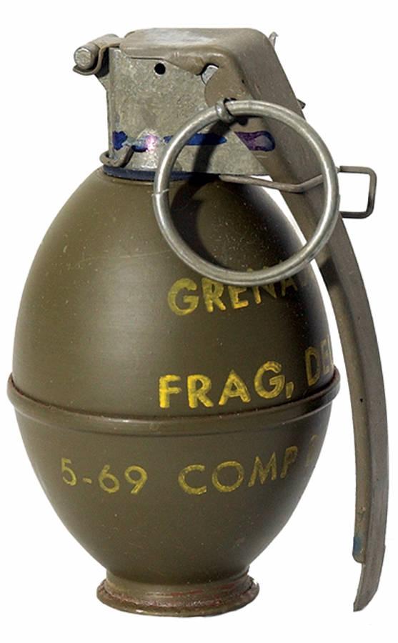 Fragging Grenade