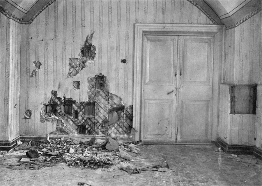 Scene Of The Romanov Execution