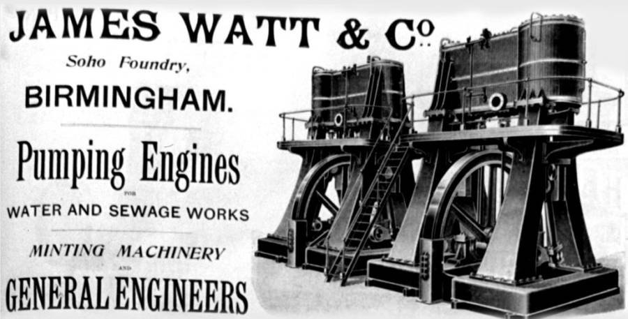 Ad For Watt Factory