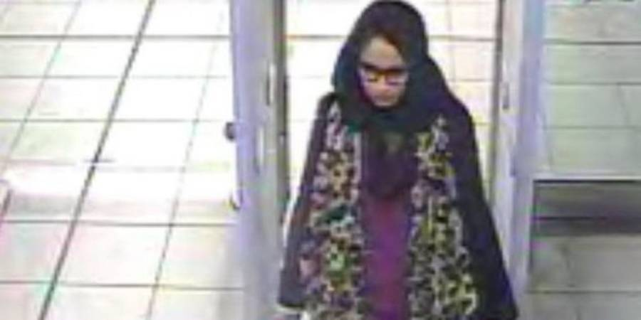 Shamima Begum In Gatwick