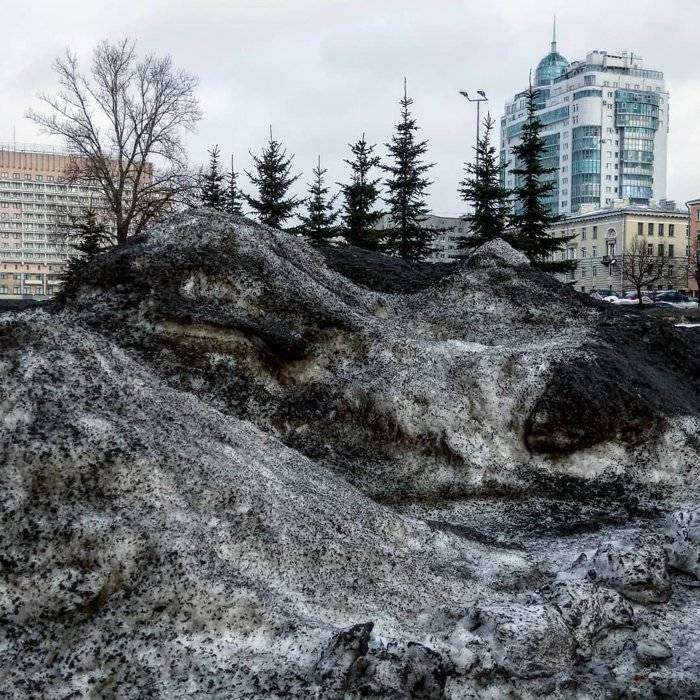 Black Siberia Snow