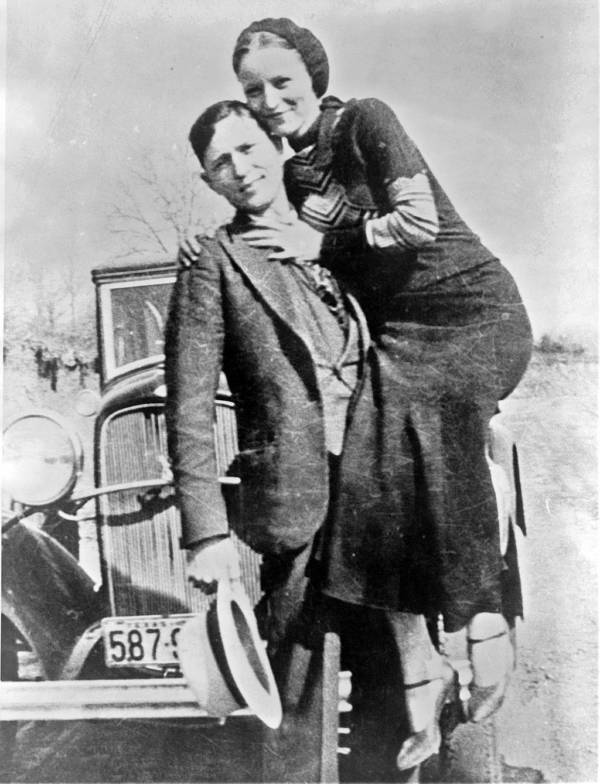 Bonnie And Clyde Photograph