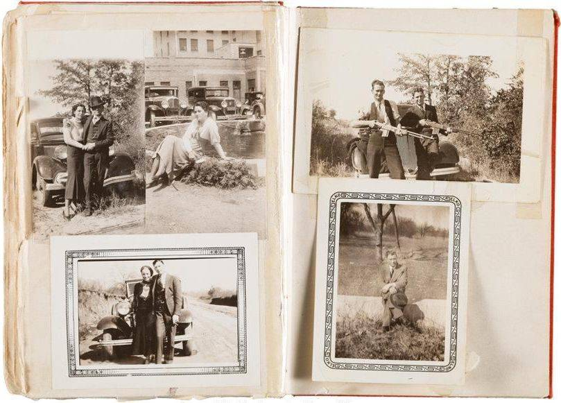 Bonnie And Clyde Poetry Book Photos