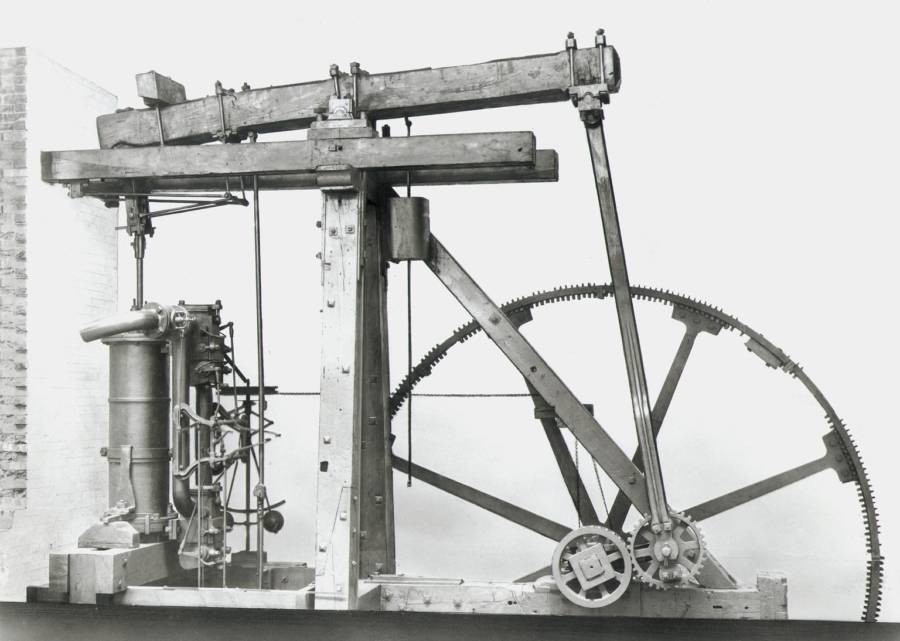 Boulton And Watt Rotary Engine
