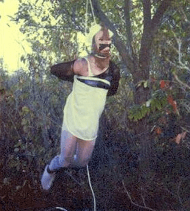 Btk Killer Bound To Tree