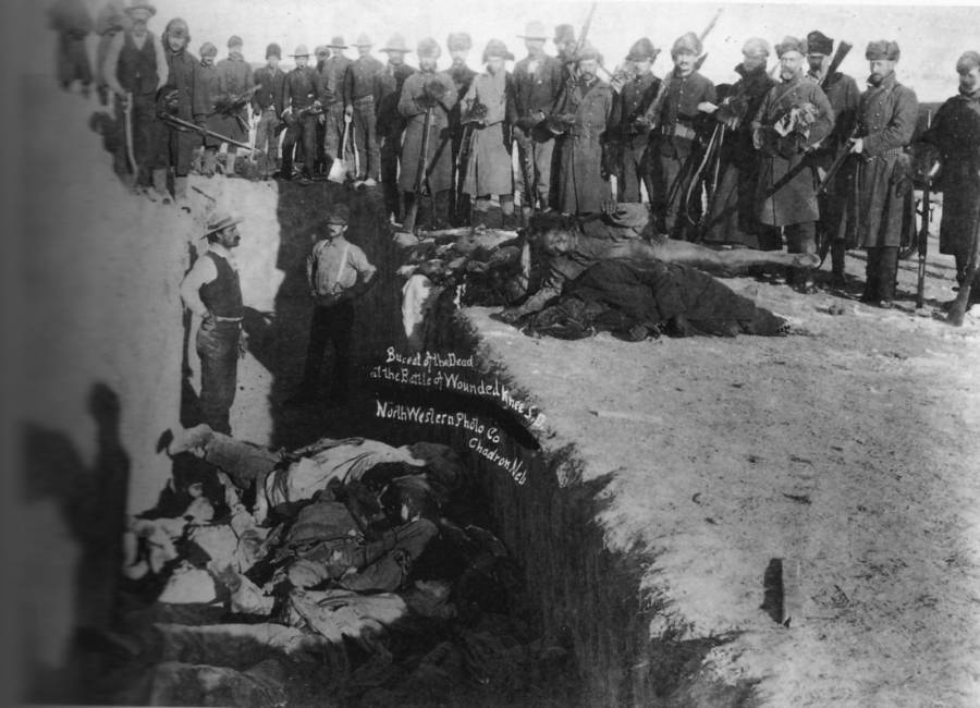 Burial At Wounded Knee
