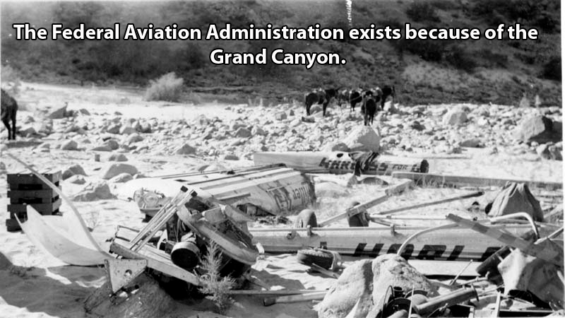Canyon Plane Crash
