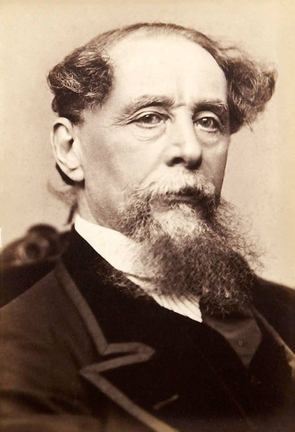 Charles Dickens Headshot