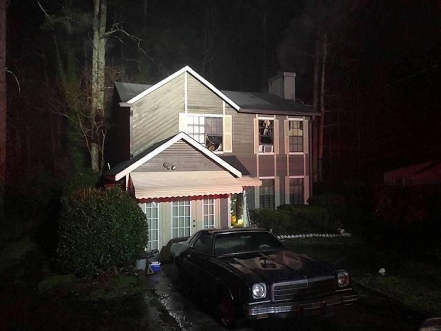 House Set On Fire After Cheez-It Argument