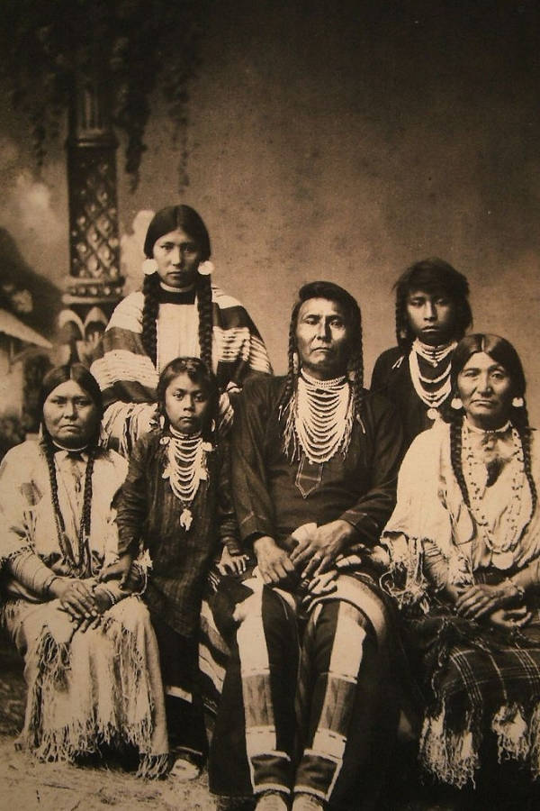 Chief Joseph And Family