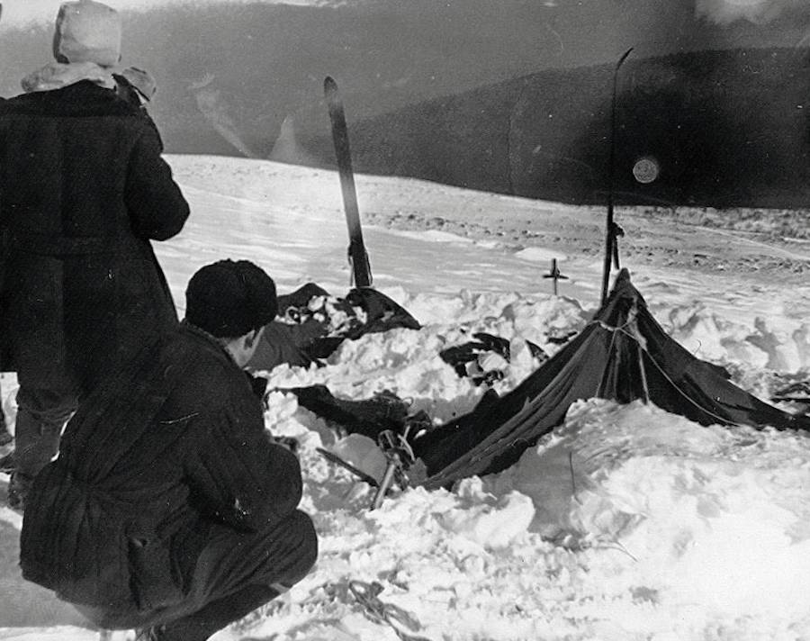Dyatlov Pass Destroyed Tent