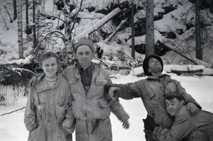 Dyatlov Pass Hikers Group Photo