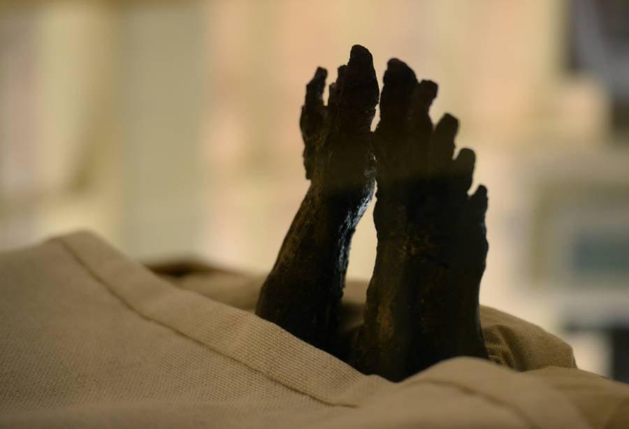 Feet King Tut