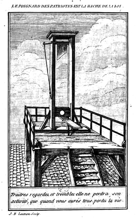 Guillotine Drawing