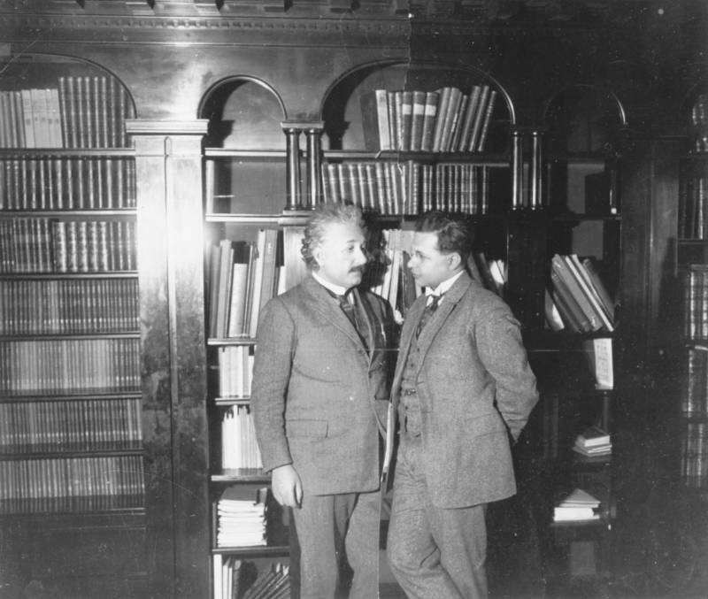 Hans Albert And Albert Einstein