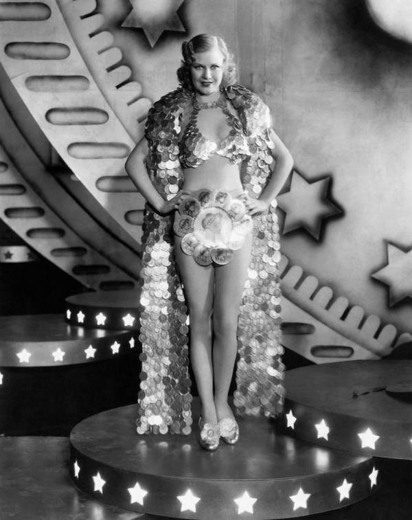 Hays Code Ginger Rogers Gold Diggers