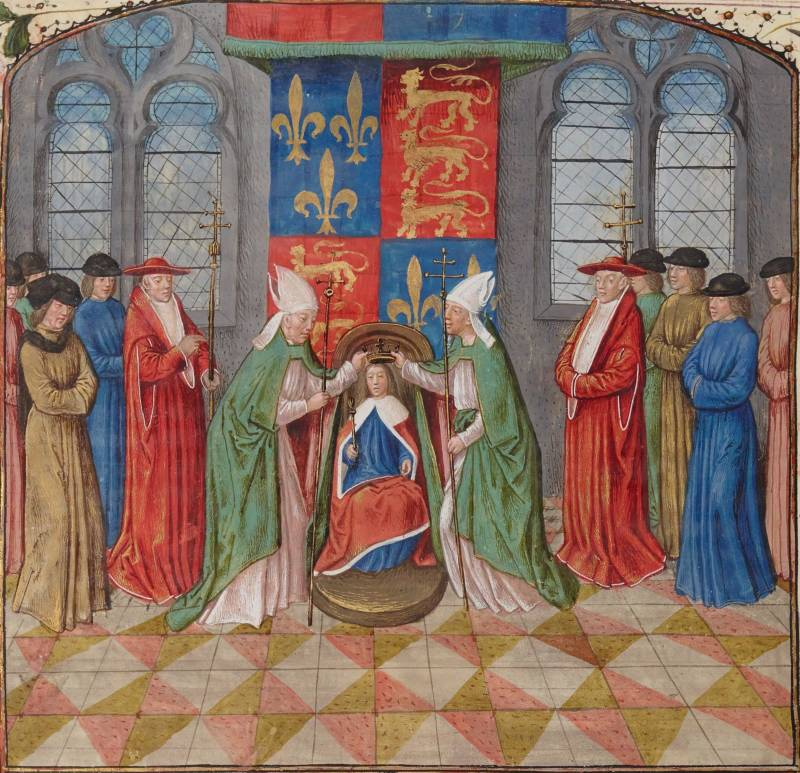 Henry Vi Being Crowned