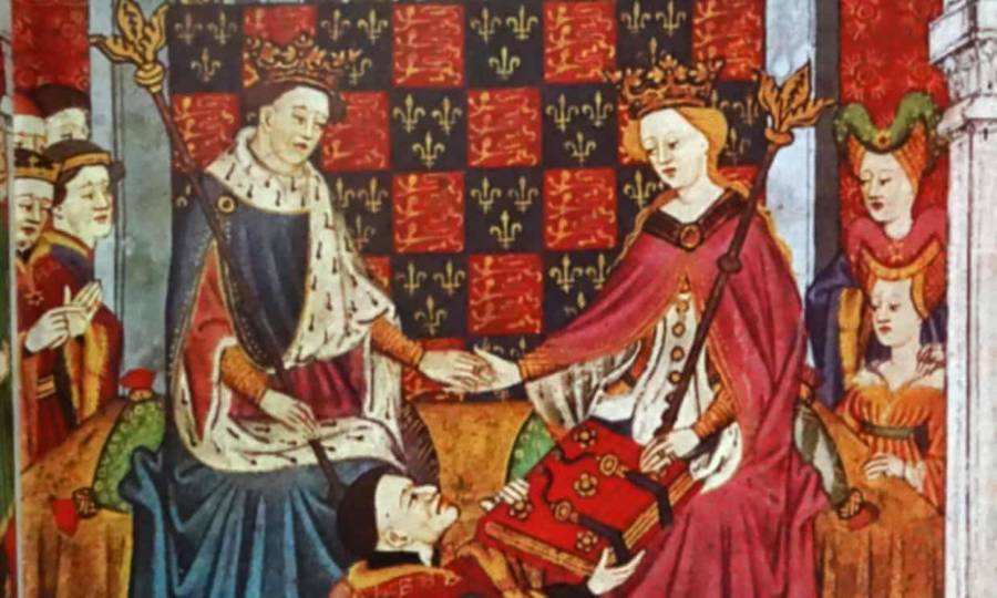 Henry Vii And Margaret Of Anjou