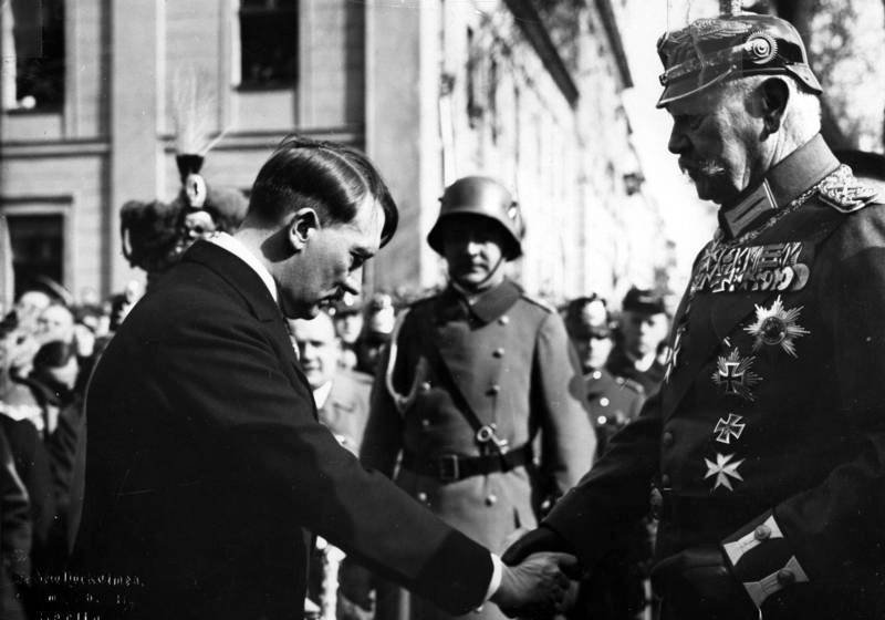 Hitler And Von Hindenburg