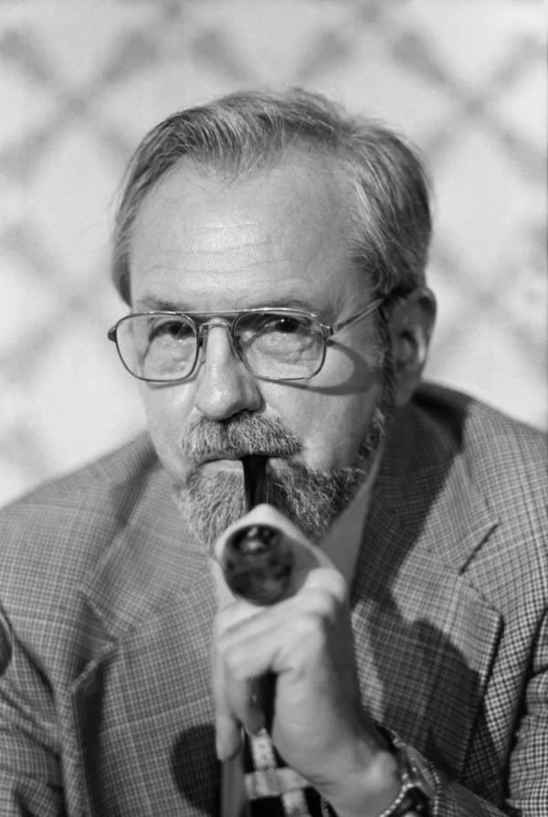 J.allen Hynek Portrait